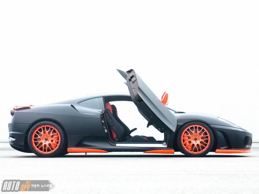 하만, 페라리 F430 블랙 미라클(Black Miracle)