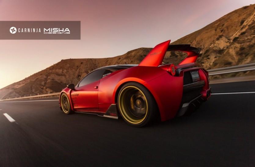페라리 458 이탈리아 튜닝 By Misha Designs