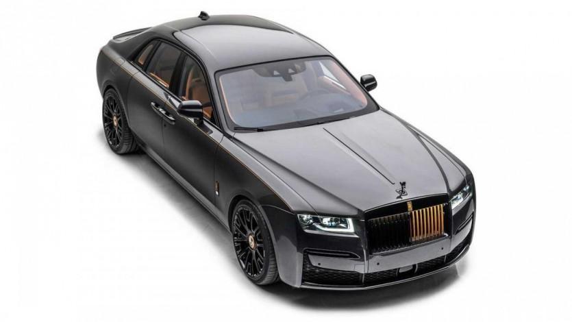 롤스로이스 고스트 만소리 런치 에디션(Mansory Launch Edition Rolls-Royce Ghost)