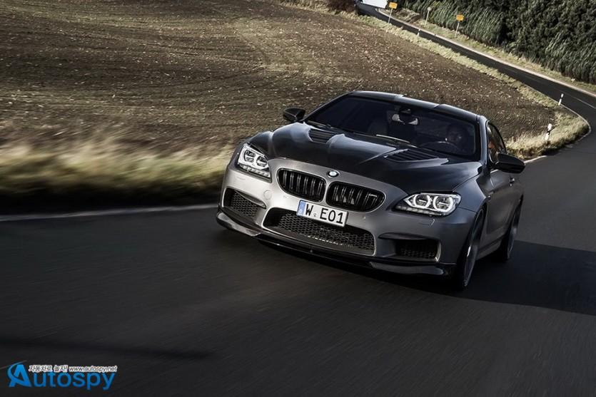 BMW M6 튜닝카 By 만하르트(Manhart)