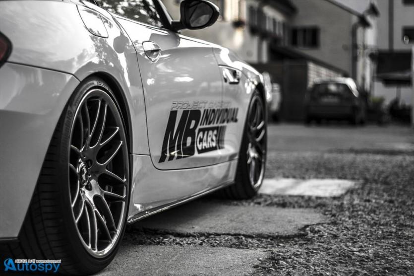 MB, BMW Z4를 위한 튜닝 파츠 출시