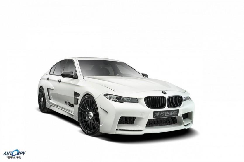 하만, BMW M5 미션(MISSION)