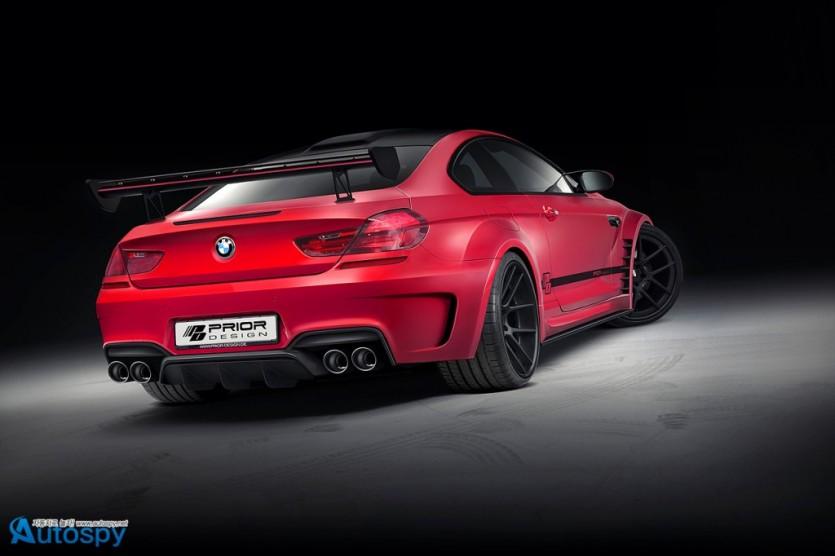 프라이어 디자인, BMW M6용 와이드보디 키트 개발