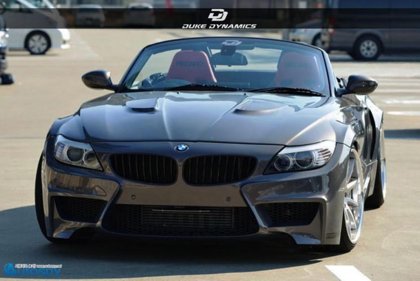 BMW Z4 와이드보디 키트 By 듀크 다이내믹스