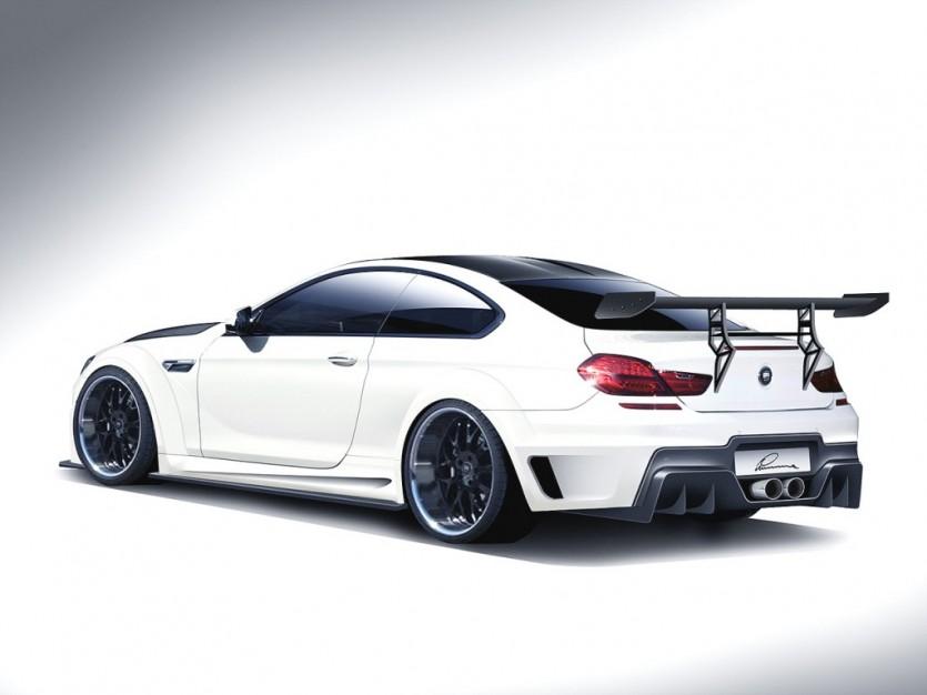루마(LUMMA) BMW M6용 튜닝 프로그램 선뵈