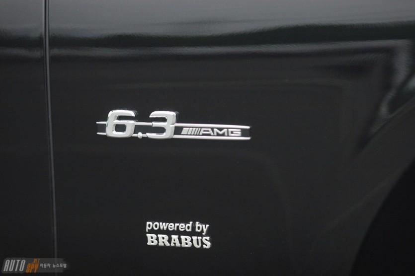 브라부스, 메르세데스 63 AMG를 위한 파워키트
