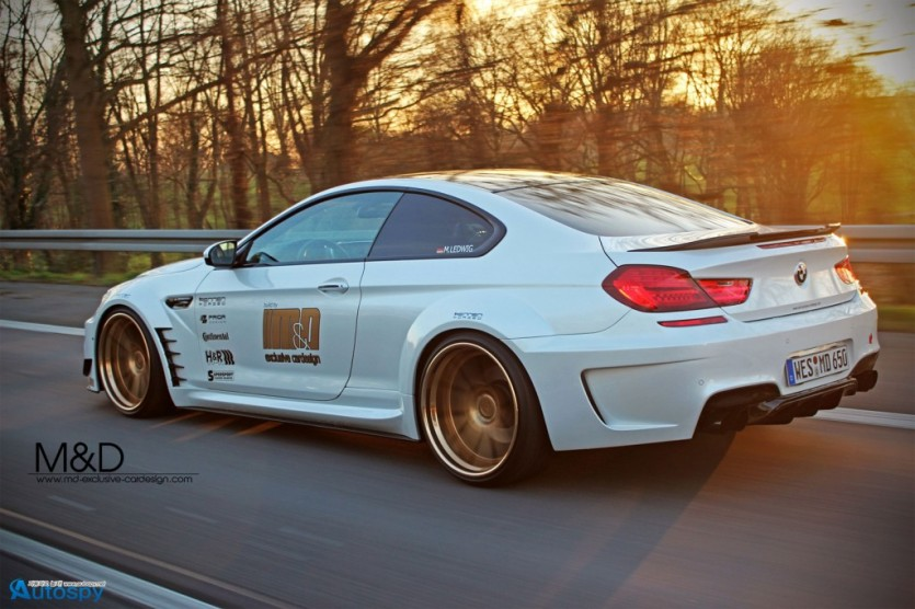 650i를 M6로 변신 By M&D Exclusive Cardesign