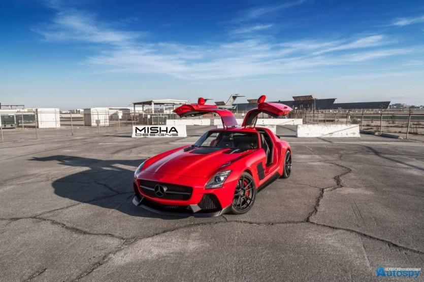 벤츠 SLS AMG 튜닝 By MISHA Designs