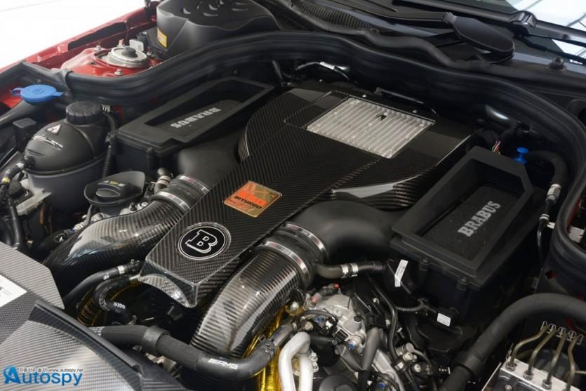 850마력 벤츠 E63 AMG 브라부스 튜닝카