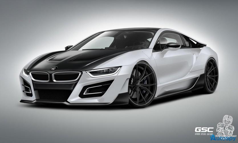 BMW i8 스타일링 패키지 By GSC