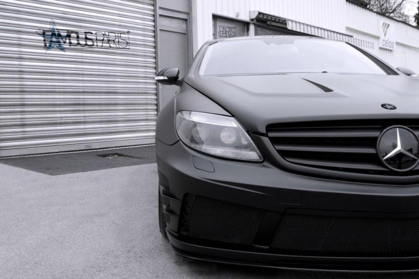 페이머스 파츠, 벤츠 CL500 블랙 매트 에디션