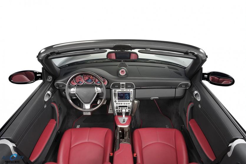 630마력 포르쉐 911 터보 카브리올레 테크아트 튜닝카