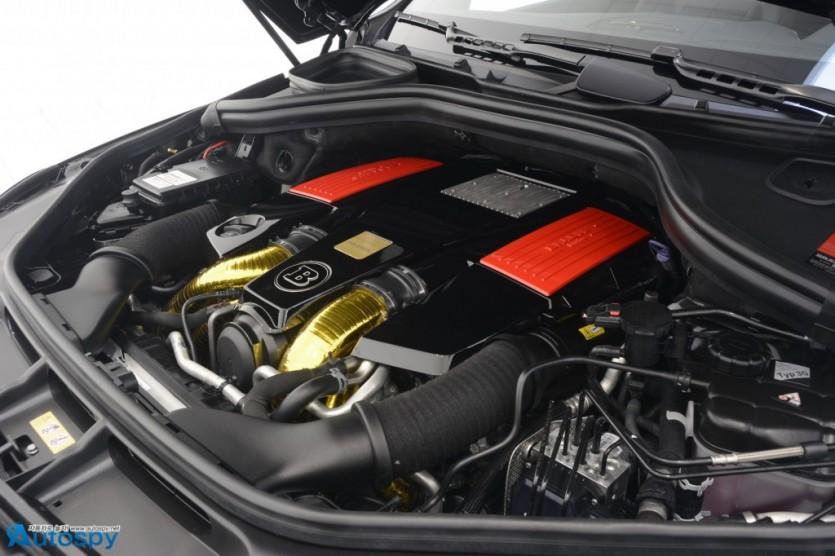850마력 몬스터, 메르세데스 AMG GLE 63 튜닝 By Brabus