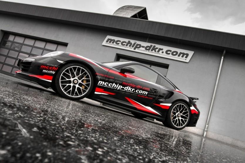 MCCHIP-DKR, 포르쉐 터보 S용 파워업 제품 선보여