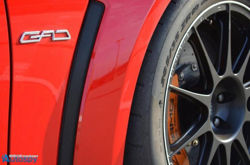 벤츠 C63 AMG 블랙시리즈 튜닝 By GAD