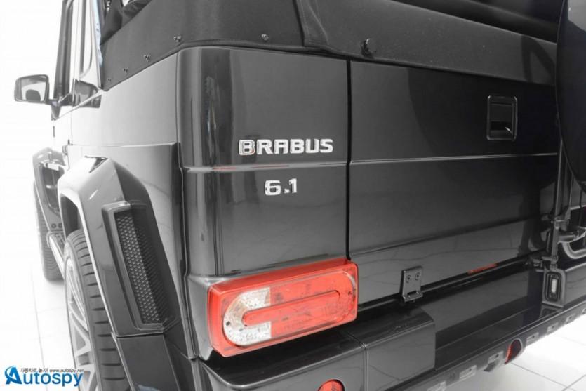 상남자를 위한 오픈카, 브라부스 G500 컨버터블