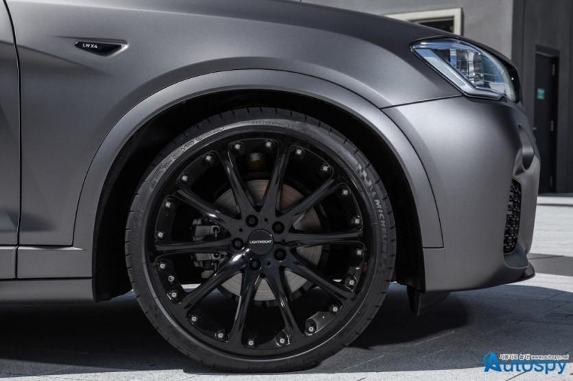 BMW X4 튜닝카 By LIGHTWEIGHT