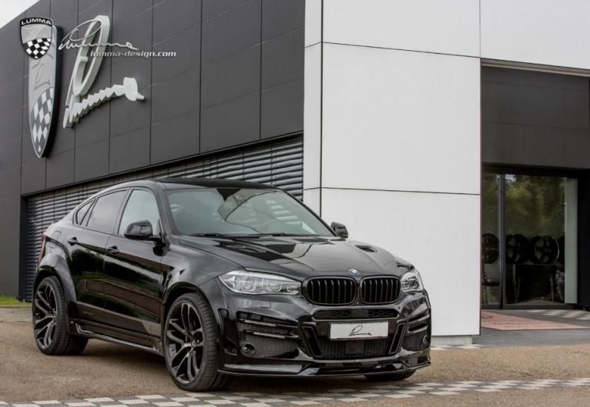 M보다 효과적인 BMW X6 튜닝카 By Lumma Design