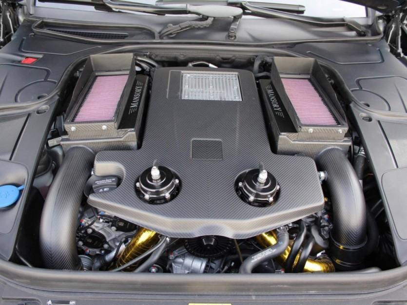 900마력 벤츠 S63 AMG 튜닝카 By Mansory
