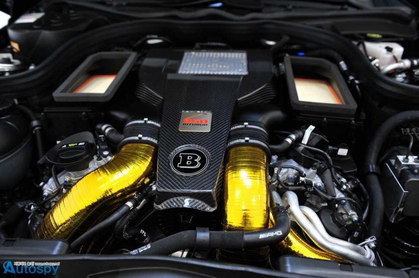 브라부스, 838마력 벤츠 E63 AMG S 왜건 튜닝카