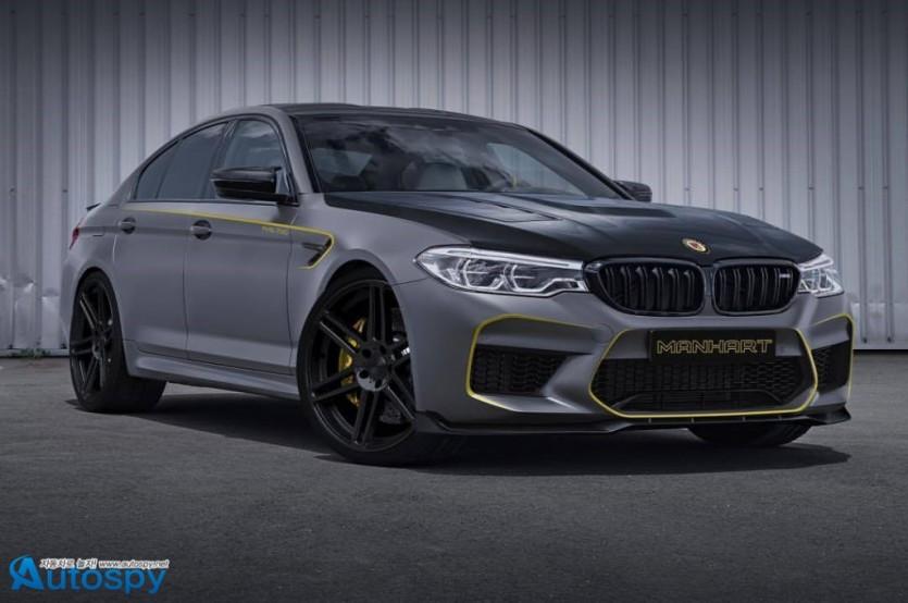BMW M5 튜닝 By Manhart