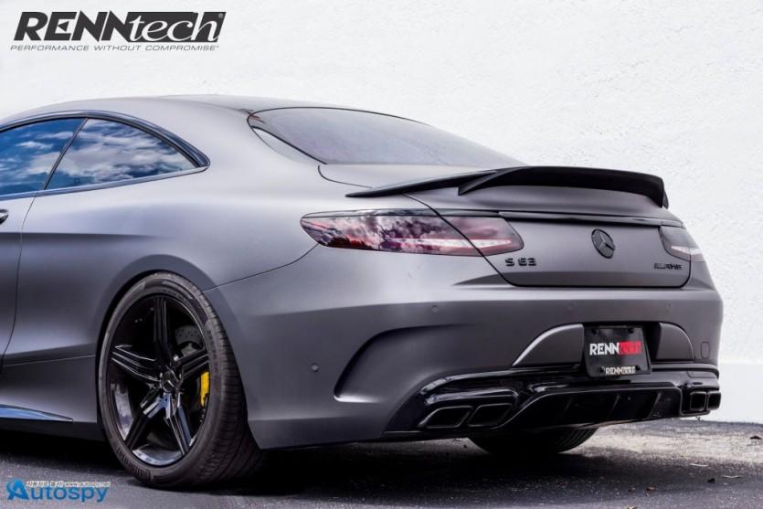 블랙 카리스마, AMG S63 쿠페 튜닝 By Renntech