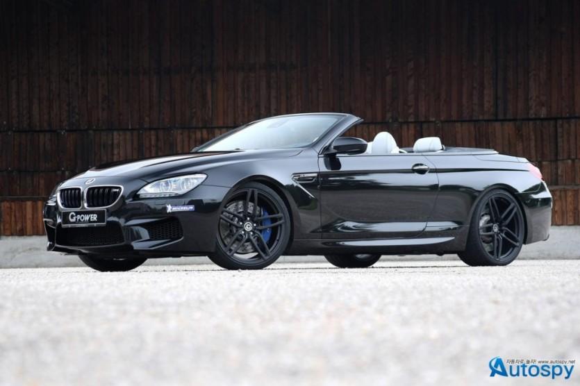 740마력 몬스터, BMW M6 컨버터블 튜닝카 By G-Power