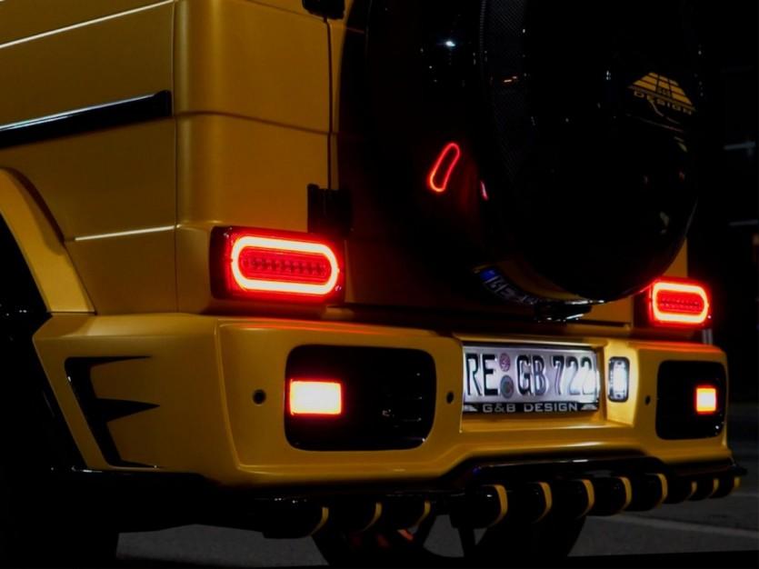 벌블비 역할 노리는 G&B Design의 와이드 보디 킷 장착 G 클래스
