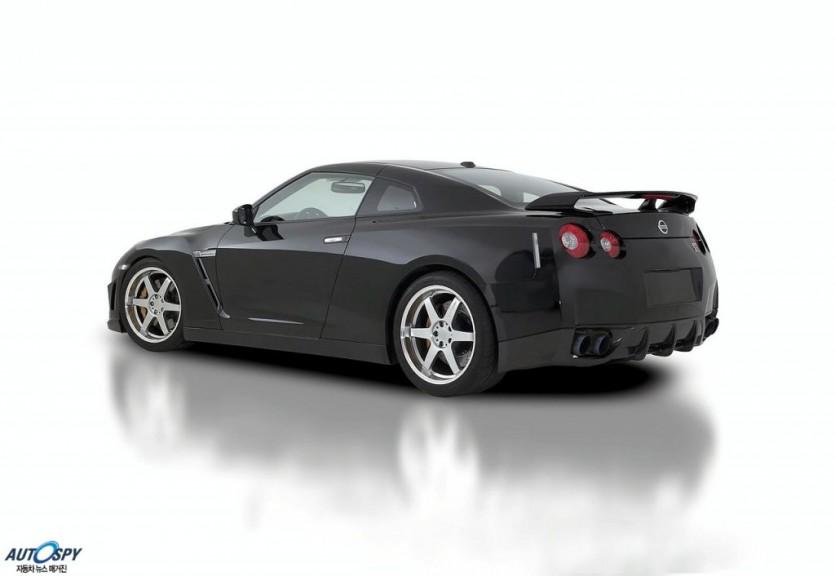 베르슈타이너, 벤트로스 닛산 GT-R 에어로파츠