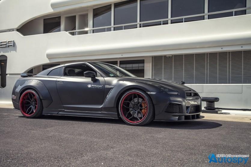 고질라의 귀한, 닛산 GT-R 튜닝 By Prior-Design