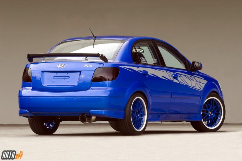 기아자동차 프라이드 튜닝카 - Blue Missile