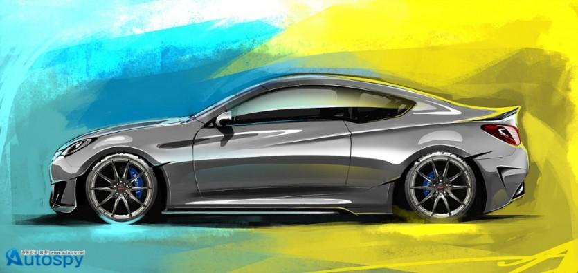 현대차 세마쇼에 400마력 레가토 컨셉 선보여