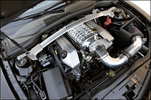 헤네시 20주년 기념 HPE650 수퍼차저 카마로 공개
