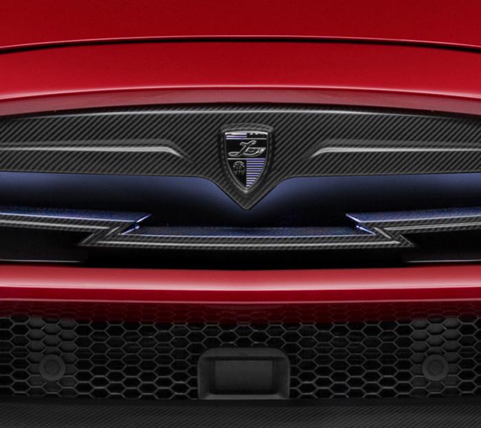 테슬라 모델 S를 위한 에어로파츠  by Larte Design