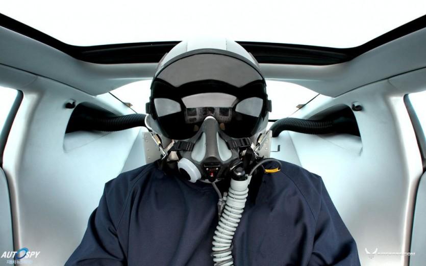 전투기를 닮은 X-1과 베이퍼 컨셉트카