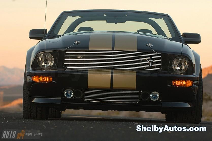 쉘비 GT-H 머스탱 컨버터블 컨셉트 모델 등장